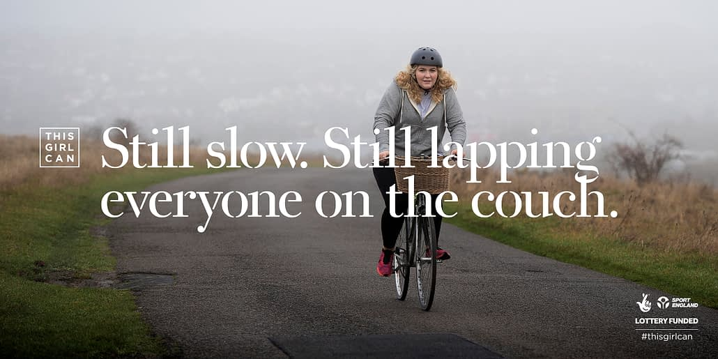 This Girl Can Campaign Cycling