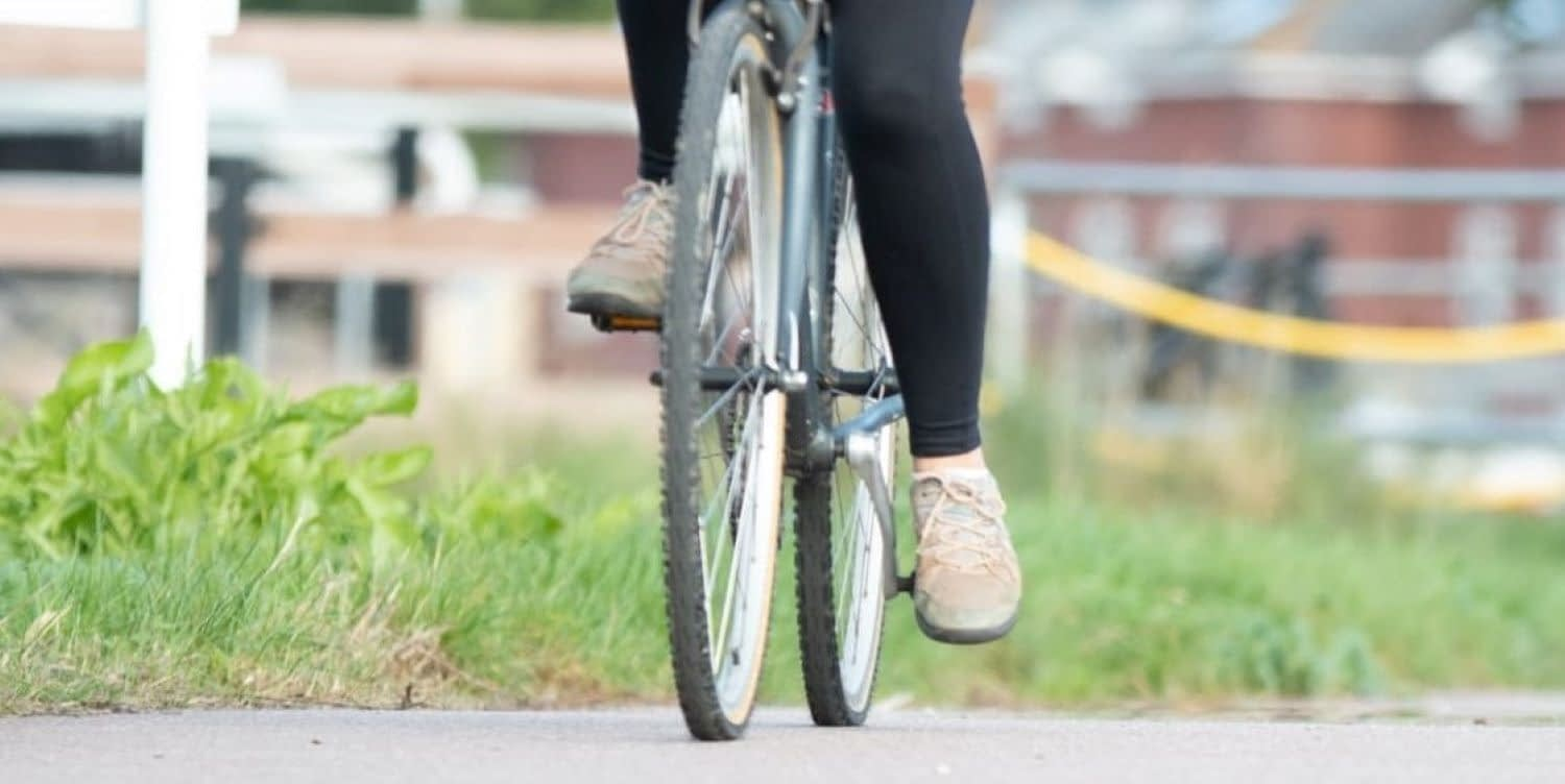 person-cycling