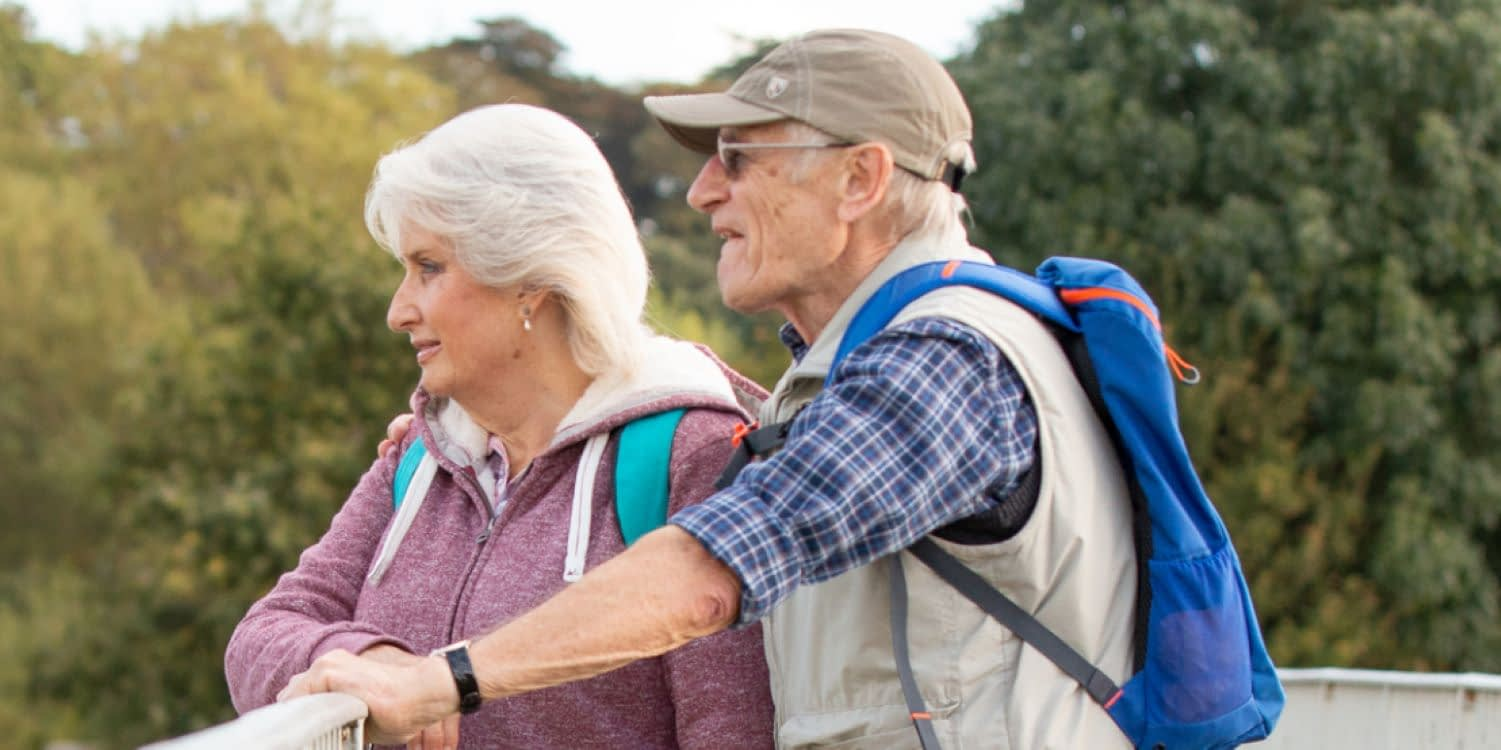Couple Walking for Health