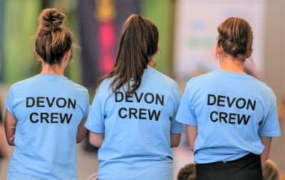 Devon School Games young leaders