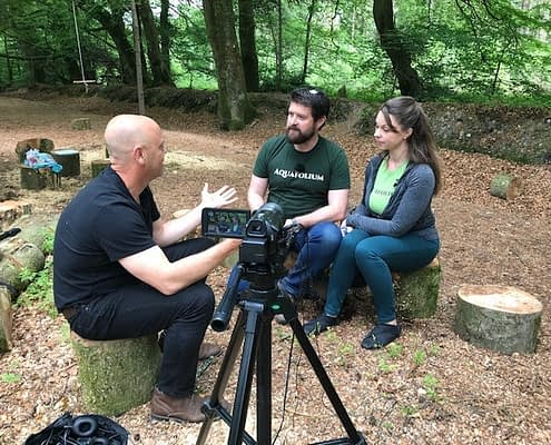 Watch this introduction to an Active Devon Podcast discussing the benefits of getting active within nature