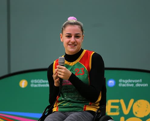 This inspiring film highlights the journey of Tilly Robinson. From taster sessions at the Devon Ability Games to a member of the GB Wheelchair Rugby Squad