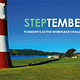 Take Part in Steptember, Plymouth's Active Workplace Challenge